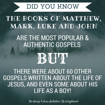 DID YOU KNOW-Matthew, Mark, Luke and